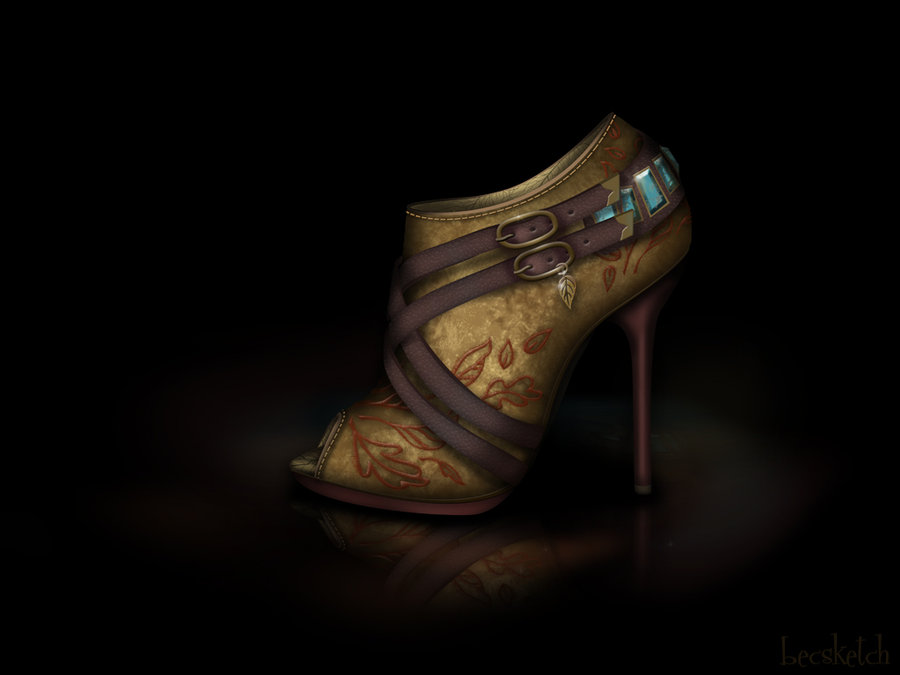 pocahontas_shoe___disney_sole_by_becsketch-d4l2u7y