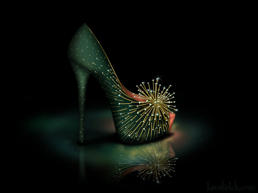 tinkerbell_inspired_shoe___disney_sole_by_becsketch-d5eskwu